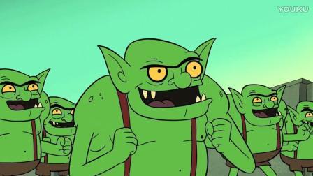 最新部落冲突搞笑原创动画第8集 十一个哥布林