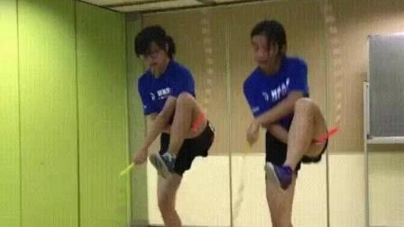 这种双人跳绳, 你服不服?