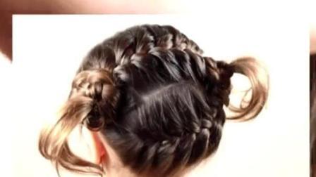 俄罗斯姑娘是怎么编头发的(25) 福利视频教程
