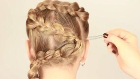 俄罗斯姑娘是怎么编头发的(26) 福利视频教程