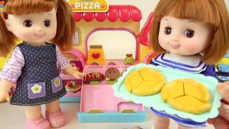 芭比娃娃玩具做蛋糕