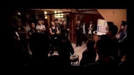 《夺帅》吴京在黑社会的出场方式太帅了, 这踩场踩得, 气势太强了
