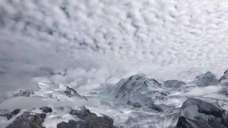 """【原创延时摄影】""""冰川之城""""瑞士采尔马特Zermatt 戈尔内格拉特(Gornergrat)观景台的雪山"""