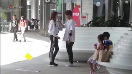 在观澜湖新城见证鹿晗与关晓彤带两个孩子游玩