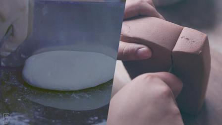 大师手工制作紫砂壶技法娴熟, 与面食制作异曲同工, 能治愈强迫症
