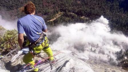 美国优胜美地公园岩石垮塌 岩崩致攀岩者夫妇一死一伤