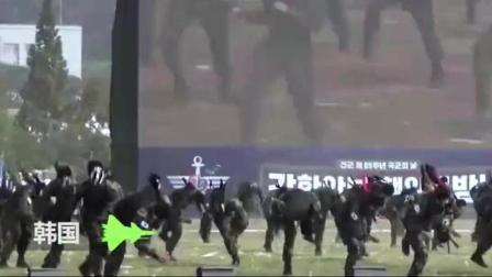 这么猛! 韩国美女特种兵单挑一群男兵