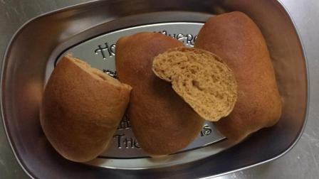 记录自学《手作面包》历程-D40红糖地瓜面包