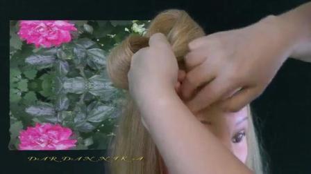 俄罗斯姑娘是怎么编头发的(29) 福利视频教程