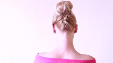 俄罗斯姑娘是怎么编头发的(30) 福利视频教程