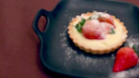 烘培的美食  白巧克力草莓挞180