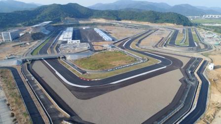 仙境中的巨龙 赛车巅峰之地 宁波国际赛道正式开启