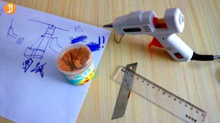 骗你买热熔胶枪系列! 与牙签一起制作会飞的戒指! 没有比这更牛的