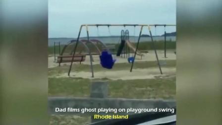 娱乐场发生奇怪的一幕, 看上去太瘆人了, 监控中小女孩的玩具你看了感觉害怕吗?