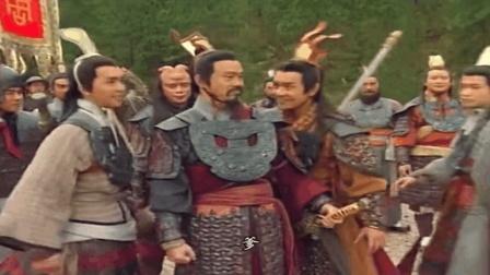 《封神榜》陈浩民版: 纣王派出哼哈二将, 李靖使出绝招, 一举击败哼哈二将