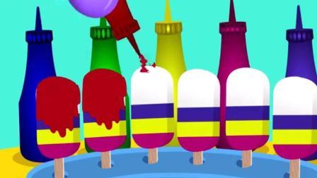 制作冰淇淋的玩具模具之做汉堡和蛋糕玩具视频91