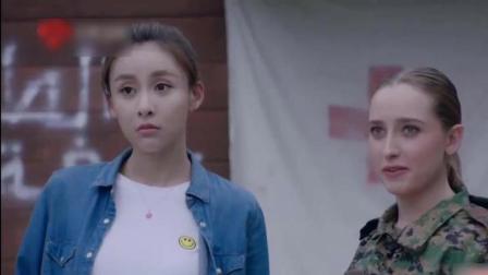 维和步兵营外国军人见中国美女是这么夸奖的杜淳贾青给中国人长脸