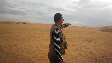 从内蒙古阿拉善盟出来第一次见到沙漠 太兴奋了