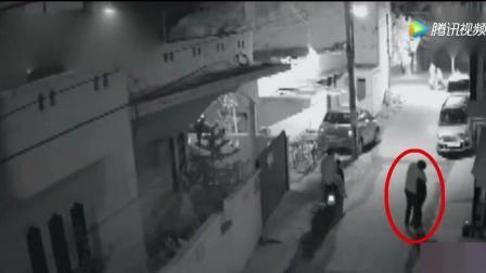 深夜小区监控拍下龌龊的画面, 无辜少女就这样被糟蹋了
