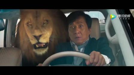 功夫瑜伽: 这段6分钟的飙车大戏, 来数数你认识几个品牌的跑车! 成龙遛老虎, 张艺兴开车!