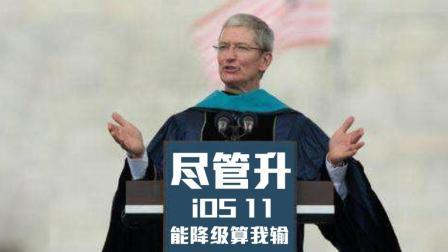 库克: 尽管升级iOS11, 能降级算我输