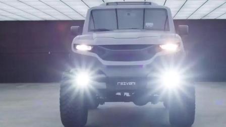 2018 Rezvani Tank概念车, 比大G威猛多了