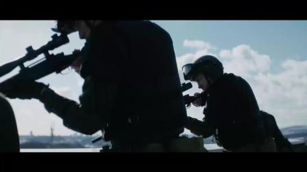超好看日本现代战争电影, 两军城市内混战, 这枪声听着太振奋人心了, 狙击手直接被反狙击