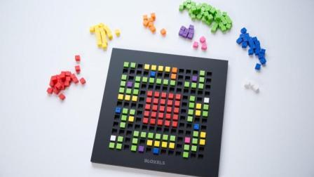 硅谷码农和AI专家们的陪娃神器: Bloxels编程魔盒