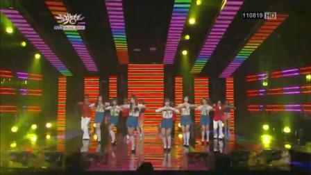 皇冠女团T-ara音乐现场