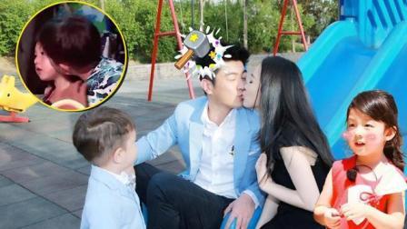 《爸爸去哪儿》嗯哼偷亲小泡芙竟然是因为他? 刘畊宏看到了想打人