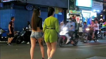 中国人去越南, 实拍越南酒吧一条街, 越南旅游要淡季去! 省一半钱