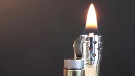 老工匠随手打造的一个打火机可与名牌产品比肩