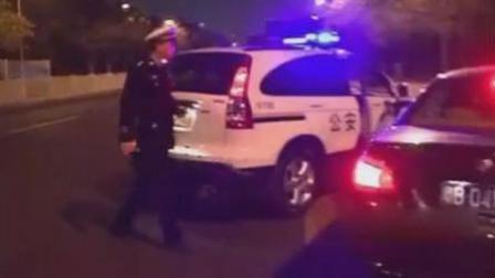 麦子传媒 宝马男遇救护车不礼让 被警察拦下后当场认怂