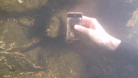 水下寻宝  鱼竿 ipone 免费拣