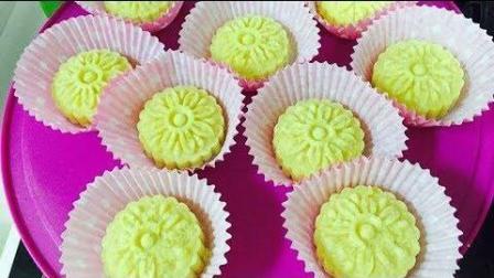 美食制作【绿豆糕】无油配方清甜爽口, 干而不腻, 没有油比较健康