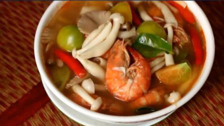 家庭美食做法: 鲜虾海鲜菇汤制作教程 色香味具全的人间美味