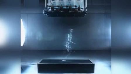 神奇! 这可不是CG动画, 而是水珠下落瞬间构成的画面!