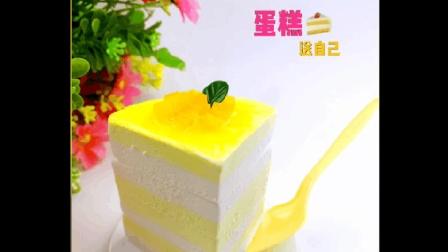 芒果生日蛋糕, 做个简单甜蜜的小蛋糕, 送给辛苦了一年的自己