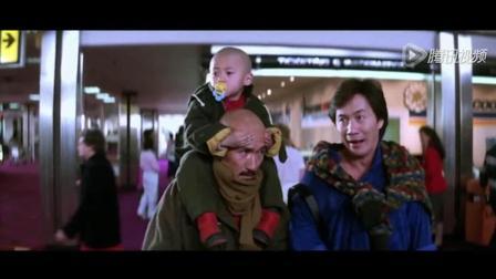 香港电影: 光头佬金刚许冠杰小光头到机场叶倩文来接!