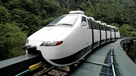 """中国首条, 比亚迪云轨商业运营线路在银川通车, 并创下了""""两个第一""""  比亚迪又牛逼了!"""
