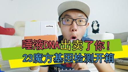 23魔方: 2mL唾液的基因之旅! 23魔方DNA基因检测开箱体验