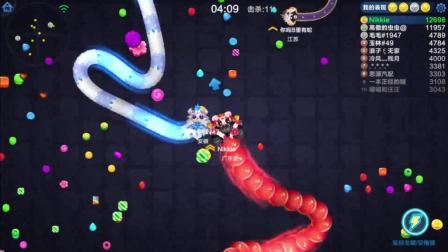 欣儿游戏实况: 蛇蛇争霸6