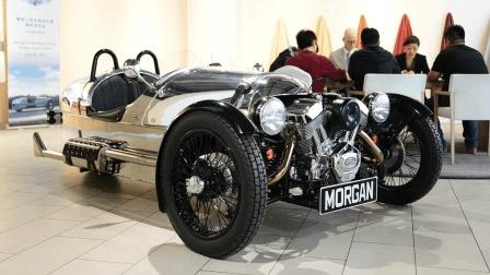 Morgan 3 Wheeler英國摩根頂級三輪超跑2.0L 112馬力V2摩托車引擎