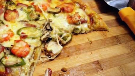 比必胜客好吃的海陆至尊披萨