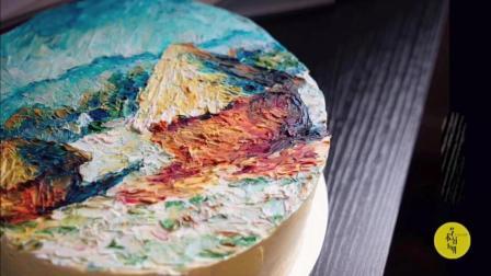 艺术好玩儿~艺术手绘蛋糕