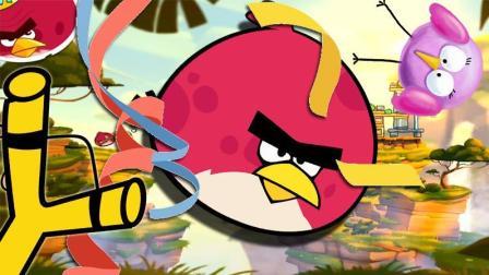 愤怒的小鸟2【114期】挑战大红鸟每日关卡!
