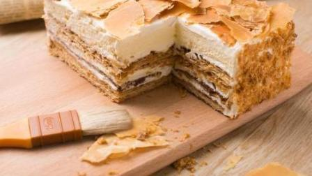 慕蓝卡爱烘焙--拿破仑蛋糕制作