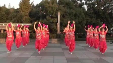 茉莉广场舞16人变队形_相聚_恭祝大家团团圆圆_广场舞视频教学在线观看