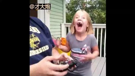 爆笑! 外国小孩的各种奇葩拔牙方式合集