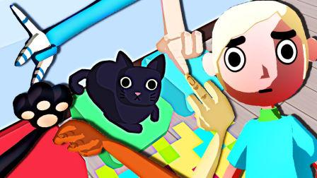 【屌德斯解说】 握手模拟器 奇葩派对用手指不仅能与人交流还可以和动物以及机器人说话!